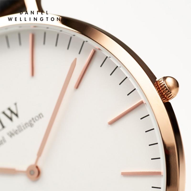 【领券立减300元】丹尼尔惠灵顿(Daniel Wellington)DW手表进口简约时尚皮带石英情侣对表